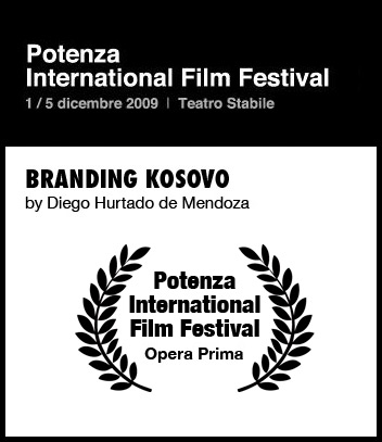 Branding Kosovo wins award at Potenza International Film Festival
