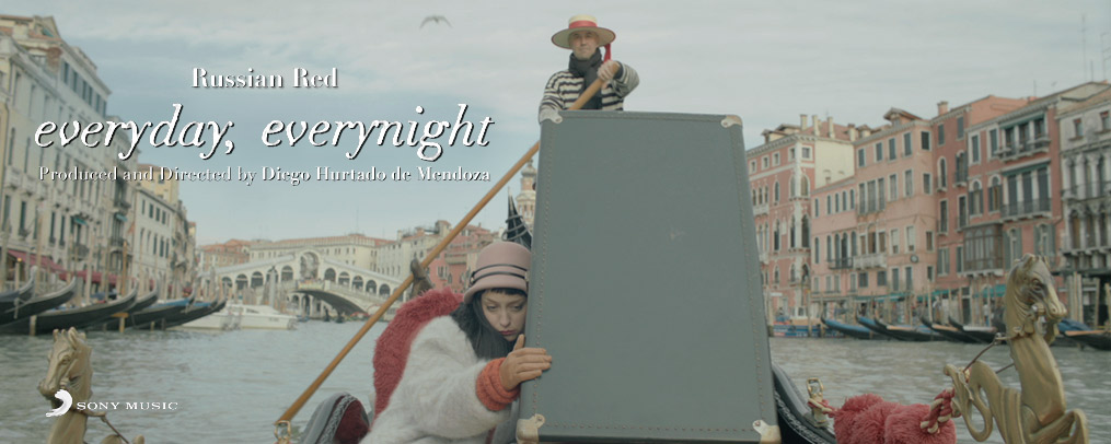 Music video for everyday, everynight by Russian Red directed by Diego Hurtado de Mendoza